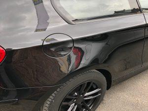 Reparierter Unfallschaden